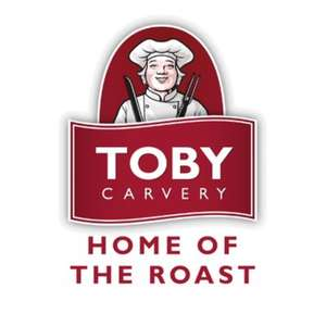 40% Off Main Meals at Toby Carvery from 13th to 18th January via Toby Carvery App