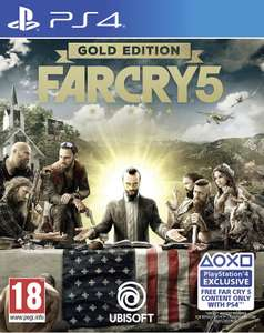 Far Cry 5 Gold Edition (includes Far Cry 3 Classic Edition) (PS4) £18.99 @ playstation store