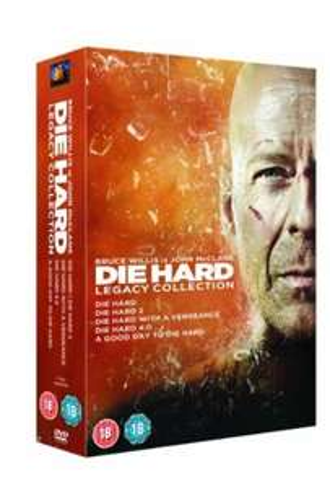 Die Hard - Legacy Collection **NEW** (DVD) ebay dvd_overstocks_ltd - £9.99