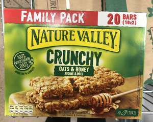 Nature valley oats & honey - £1.79 @ The Food Warehouse