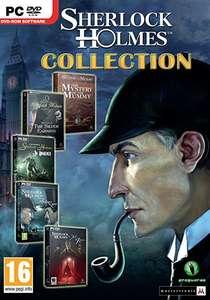 The Sherlock Holmes Collection (6 Steam PC Games) £3.99 @ GamesPlanet