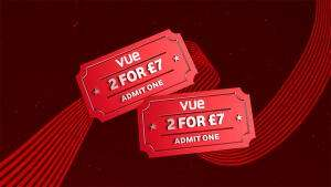 2 Vue tickets for £7 from Vodafone VeryMe Rewards