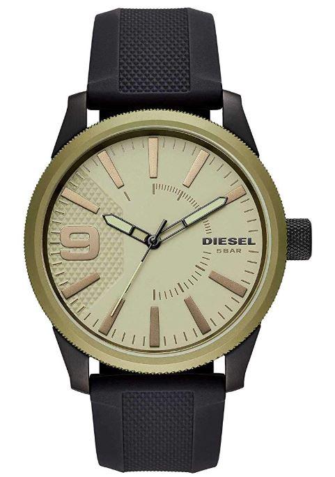 Diesel Mens Analogue Quartz Watch with Silicone Strap DZ1875 £49.56 at Amazon