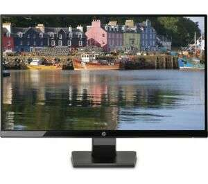 "HP 27w Full HD 27"" LCD Monitor - Black - Currys DAMAGED BOX - £120.69 at Currys clearance / Ebay"