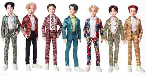 BTS Korean Pop Star Figures reduced in Barnsley Tesco to £5.50