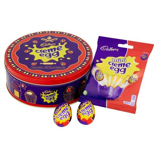 Cadbury Creme Egg Tin 409G £5 at Tesco