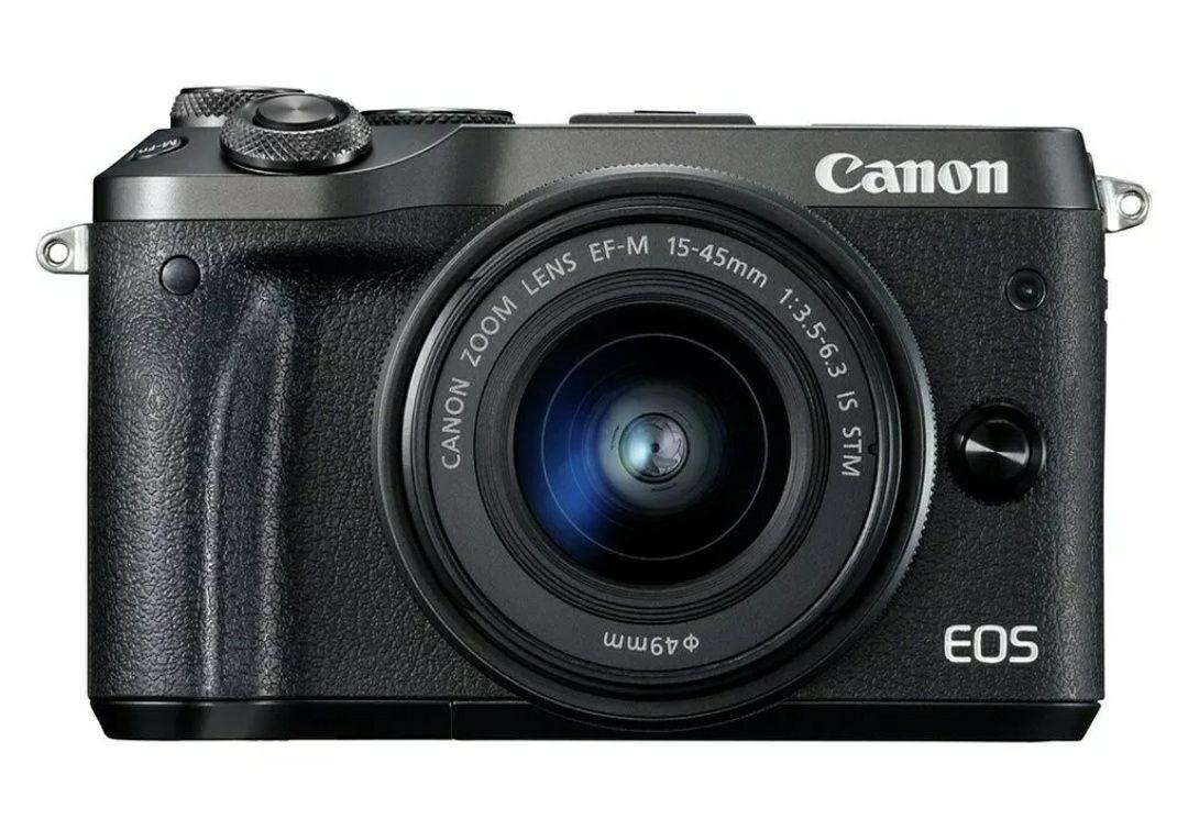 **Relisted** Canon EOS M6 24.2MP 15-45mm Mirrorless WiFi PicBridge Camera - Black £334.99 delivered @ Argos eBay