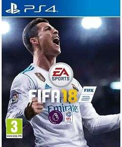 FIFA 18 Sony Playstation PS4 Game £2.45 at Argos/ebay - free click and collect