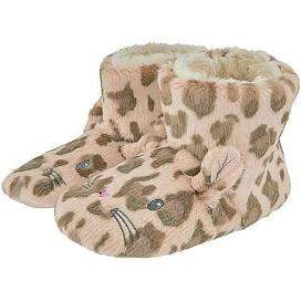 Girls leopard print slipper boots £3.84 at Monsoon with code - free C+C
