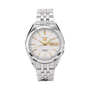 Seiko 5 Men's Stainless Steel Automatic Watch £67.49 at H Samuel