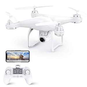 Potensic T25 GPS Drone, FPV RC Drone 1080P WiFi Live Video, Return Home, Altitude Hold, Long Range £101.05 @ Amazon France
