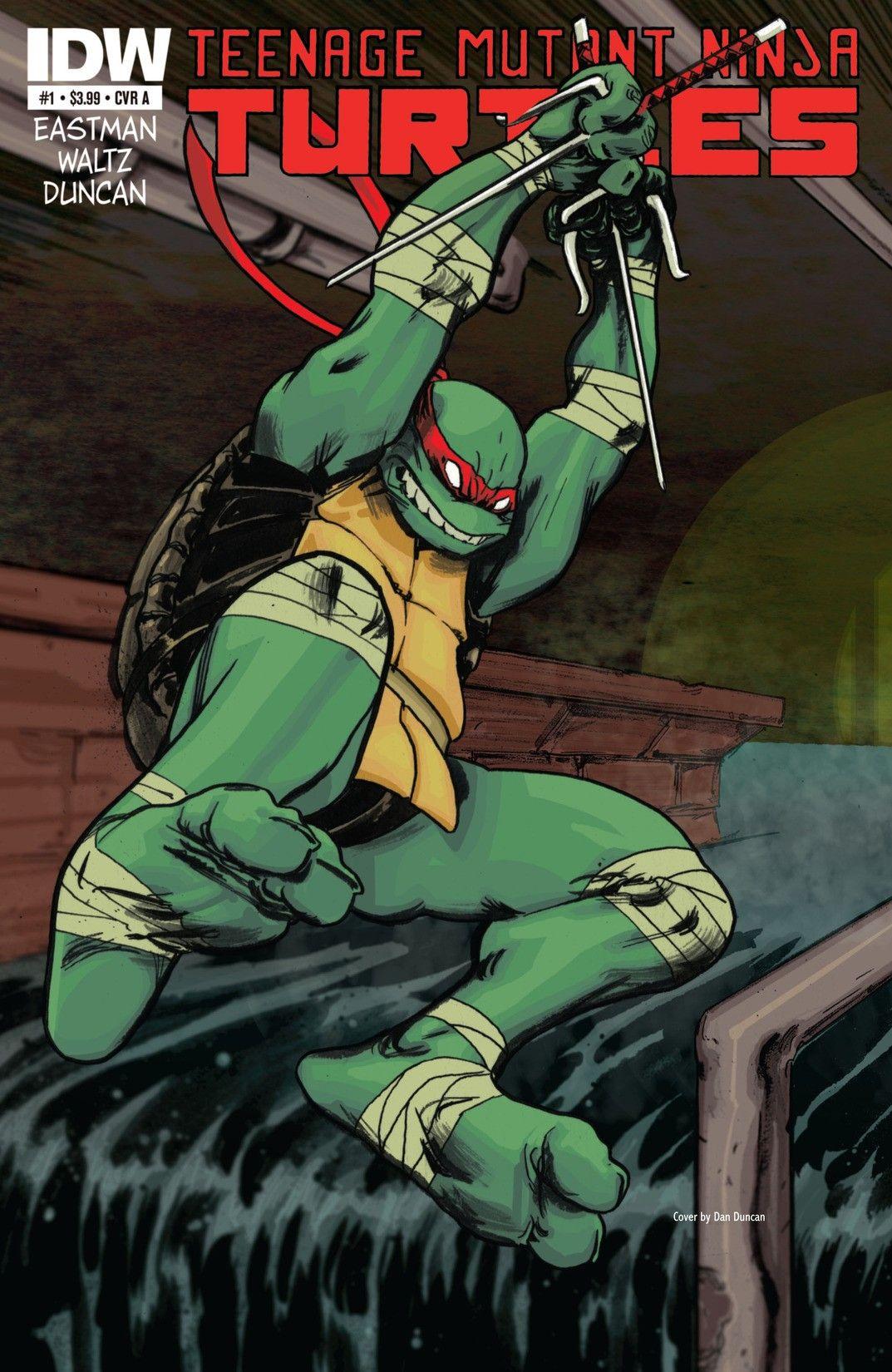Teenage Mutant Ninja Turtles #1 Free Digital Comic by IDW Publishing @ Comixology (Free Download)