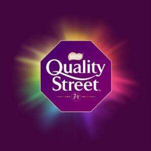 1.2kg single flavour bags of Quality Street £5 from John Lewis & Partners (Newcastle)