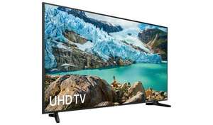 "SAMSUNG UE55RU7020KXXU 55"" Smart 4K Ultra HD HDR LED TV Free C&C £379 @ Argos"
