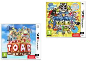 Captain Toad Treasure Tracker 3DS for £12.99 or WarioWare Gold Nintendo 3DS for £5.99 @ Argos