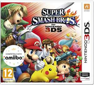 Super Smash Brothers 3DS Game featuring Pokemon for £21.99 @ Argos