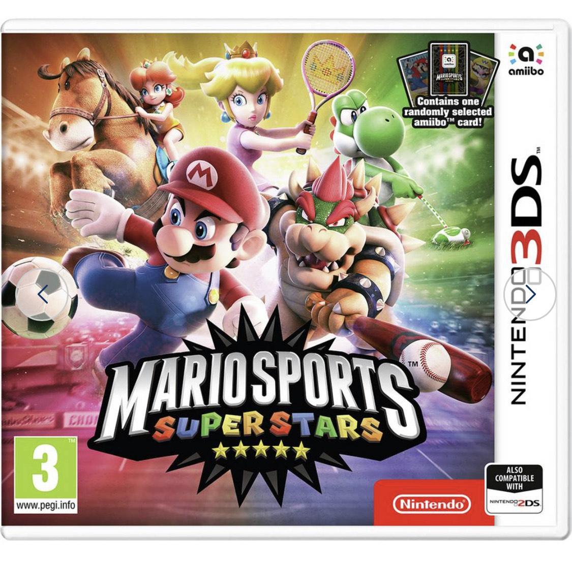 Mario Sports Superstars Nintendo 3DS Game & Amiibo Card £5.99 Argos
