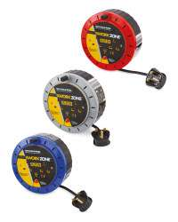 Workzone 5M Cable Reel £5.99 @ Aldi instore / + £2.95 delviery online