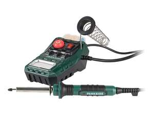Parkside Soldering Station Bundle £8.99 Lidl