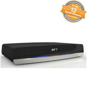 Refurbished BT Youview Plus Set Top Box Home TV 500GB Recorder With Twin HD Freeview £79.00 @ ebay / the_phone_outlet