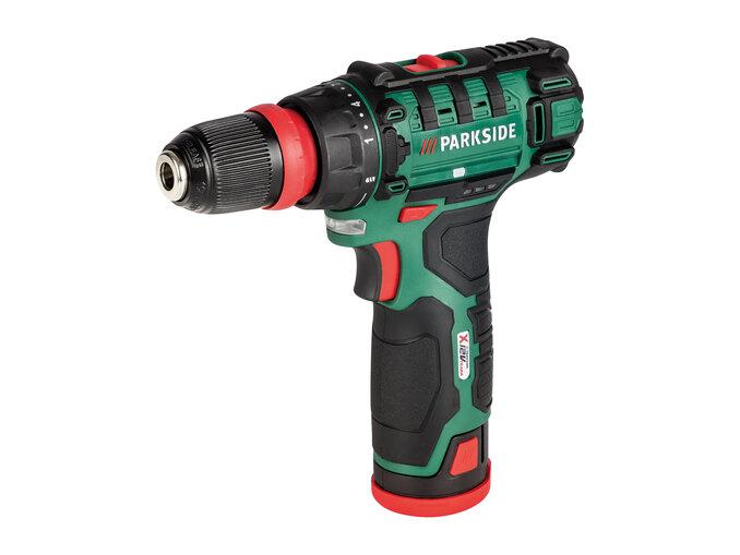 Parkside 12V Cordless Drill £29.99 LIDL