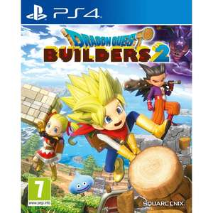 Dragon Quest Builders 2 [PS4] for £10 Free C&C Only @ Smythstoys