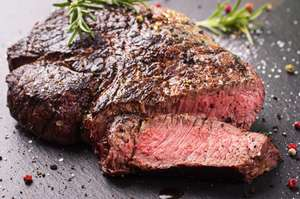 Rump Steak On Offer At The Butchers Counter @ Morrisons Instore £9 a Kg