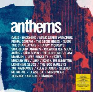 Anthems [VINYL] LP Record (30 songs) £11.99 (Prime) / £14.98 (non Prime) at Amazon