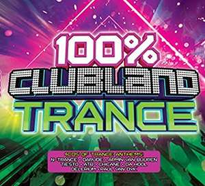 100% Clubland Trance Box Set - Various Artists 4 CD with Autorip now £5 (Prime) + £2.99 (non Prime) at Amazon