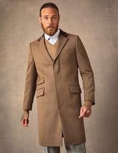 Extra 10% off Coats with Voucher Code @ Hawes and Curtis