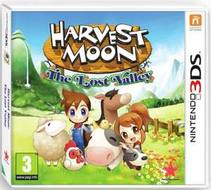 Harvest Moon The Lost Valley Nintendo 3DS Game just £3.49 at Argos