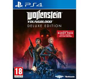 Wolfenstein Youngblood PS4 / Xbox One + 6 Months Spotify Premium @ Currys PCWorld Click & Collect Only - £9.97