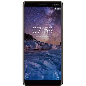 """Nokia 7 Plus Android, 6"""", 4G LTE, SIM Free, 64GB, Black/Copper - grade C - £80.99 using code @ stockmustgo / ebay"""