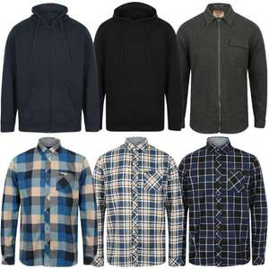 Men's Hoodies, Sweats and Flannel Shirts reduced to £6.30 using code (+ £1.99 Delivery) @ Tokyo Laundry