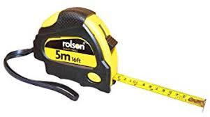 Rolson 50535 5m x 19mm Measure Tape £1.50 Prime / £5.99 Non Prime at Amazon