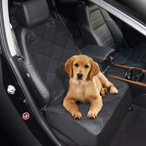 Zellar Dog Car Front Seat waterproof protector Cover, with Rubber Backing £9.59 with Code & Prime/ £14.08 Non Prime Sold by Upoint /Amazon.