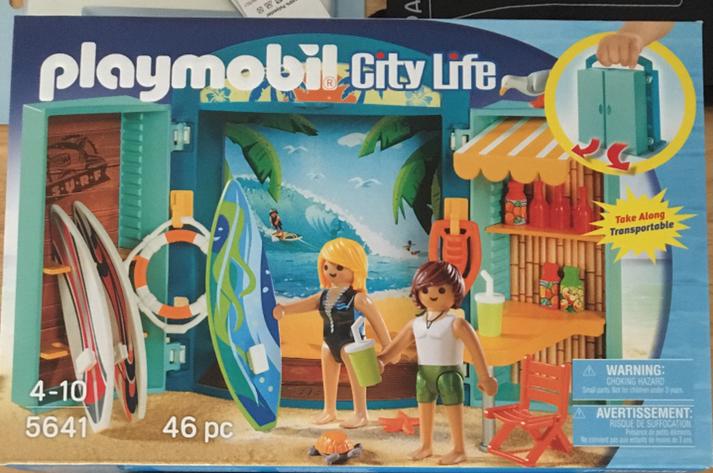 Playmobil surf shop £4.99 Home Bargains instore Branksome