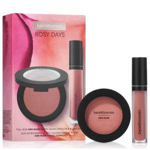 bareMinerals Exclusive Rosy Days Gift Set (Worth £41.00) now £16.65 delivered @ Look Fantastic