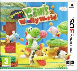 Poochy & Yoshi's Wooly World Nintendo 3DS £12.99 at Argos