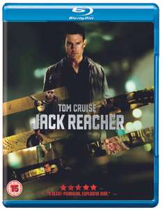 Selected Blu-ray from £2.49 (more in OP) free click and collect at HMV e.g. Jack Reacher Blu-ray now £2.49
