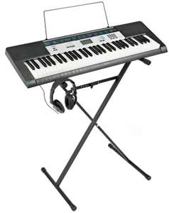 Casio CTK-1550AD Keyboard, Stand & Headphones Bundle with Free Lessons for £79.99 @ Argos