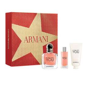 ARMANI In Love With You Eau de Parfum Gift Set for her 50ml £38.70 @ the perfume shop