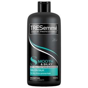 Tresemme Smooth & Silky Shampoo, 900 ml (Pack of 2) £5 Prime / £9.49 Non Prime at Amazon