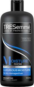 Tresemme Moisture Rich enRiched with Vitamin E Shampoo for Dry, Damaged Hair, 900 ml (pack of 4) £8.99 prime / £13.48 non prime @ Amazon