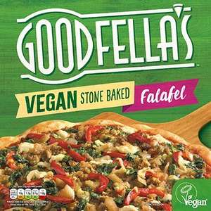 Goodfella's Vegan Stonebaked Pizza (Falafel and Spicy Vegetable Salsa) - £2 each @ Sainsbury's