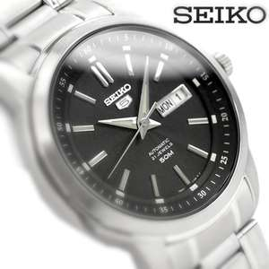 Seiko 5 Automatic Watch Day-Date 21 Jewels Exhibition Back @ H.Samuel - £76.50
