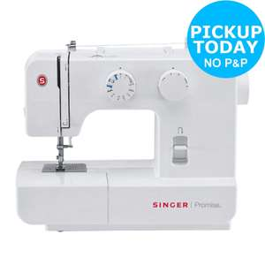 Singer 1409 Sewing Machine - White, £84.99 at Argos (Free click and collect)