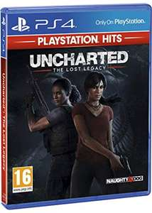 Uncharted: The Lost Legacy PlayStation Hits (PS4) for £10.85 Delivered @ Base