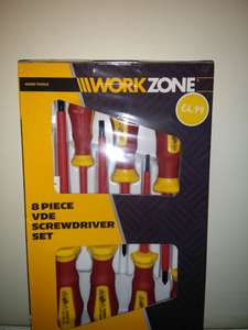 8 Piece VDE Screwdriver Set £1.50 at Aldi Abbey Lane Leicester