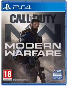 Call of Duty Modern Warfare PS4 £34.85 Delivered @ ShopTo